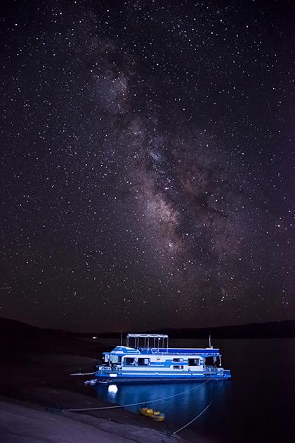 Milky Way Photography at Lake Powell
