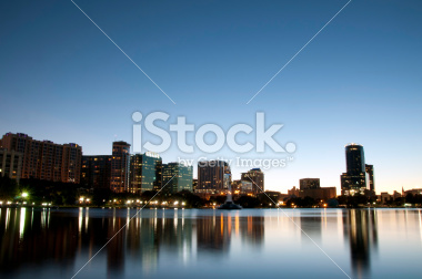 Orlando Downtown Skyline