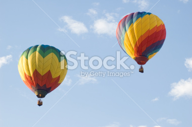 Hot Air Balloons at the Freedom Festival