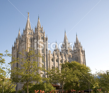 Salt Lake Temple Pictures