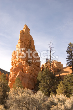 Rock Formations in Bryce Canyon