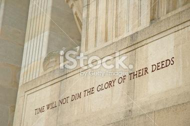 Aisne-Marne Memorial Stock Photographs