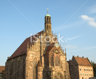 Church of Our Lady in Nuremberg Germany