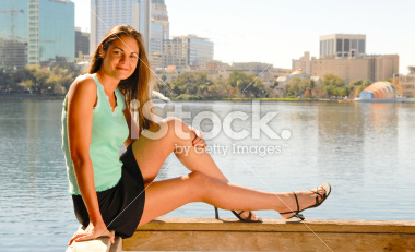 Teenage Model Pictures in a Park