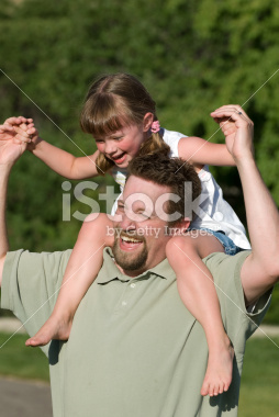 Father Playing with his Kids