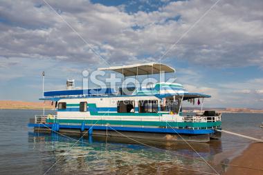 Houseboat on Lake Powell