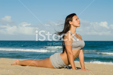 Yoga and Fitness on the Beach