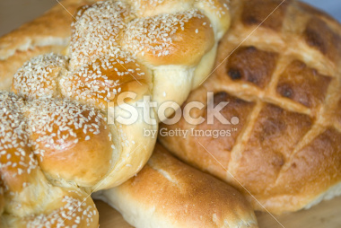 French Bread in a Bakery