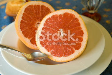 Pink Grapefruit Breakfast