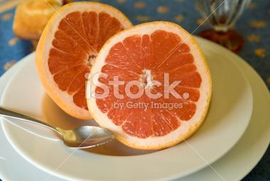 Pink Grapefruit Breakfast