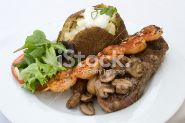 Steak and Shrimp Dinner Picture